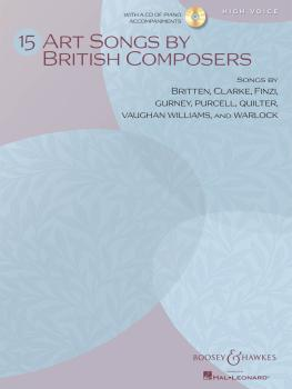 15 Art Songs by British Composers (High Voice, Book/CD) (HL-48021113)