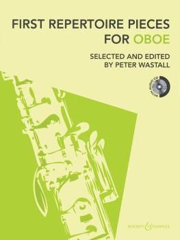 First Repertoire Pieces for Oboe: 21 Pieces with a CD of Piano Accompa (HL-48022493)