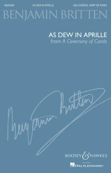 As Dew in Aprille (from A Ceremony of Carols): SSA and Harp or Piano,  (HL-48022496)