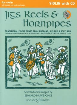 Jigs, Reels & Hornpipes: Violin Edition with CD (HL-48023136)