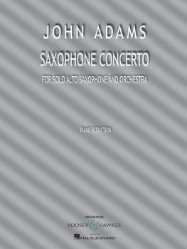 Saxophone Concerto (for Solo Alto Saxophone and Piano Reduction) (HL-48023676)