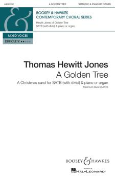 A Golden Tree: A Christmas Carol for SATB divisi and piano or organ (HL-48023702)