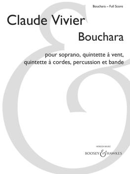 Bouchara (for Soprano, Woodwind Quintet, String Quintet, Percussion an (HL-48023912)
