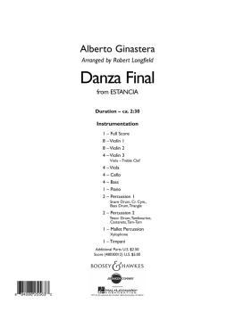 Danza Final (from Estancia) (HL-48030012)