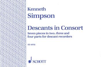 Descants in Consort: Seven Pieces in 2, 3 and 4 Parts for Descant Reco (HL-49002503)
