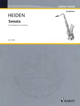 Sonata (for Alto Saxophone & Piano) (HL-49002698)