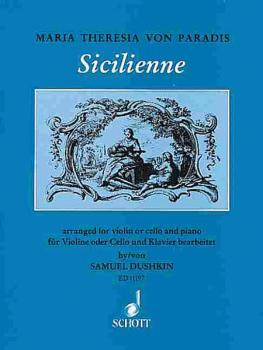 Sicilienne (for Violin or Violoncello and Piano) (HL-49002700)