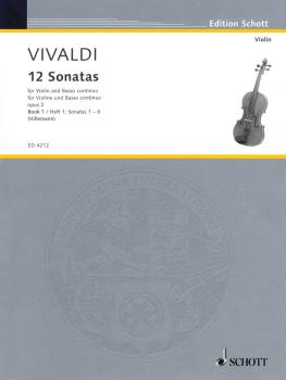 12 Sonatas, Op. 2 - Book 1 (for Violin and Basso Continuo Violoncello  (HL-49004700)