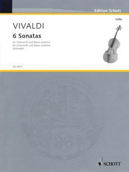 6 Sonatas (for Violoncello and Basso Continuo) (HL-49005274)