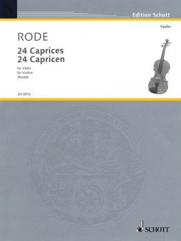 24 Caprice Etudes in the form of Etudes, in all 24 Keys (Violin) (HL-49006386)
