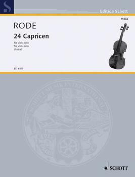 24 Caprice Etudes in the form of Etudes, in all 24 Keys (Viola) (HL-49006387)