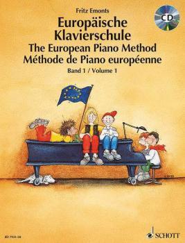 The European Piano Method - Volume 1 (Book/CD) (HL-49007645)