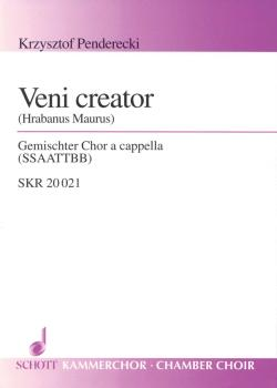 Veni Creator (for Mixed Choir SSAATTBB - Choral Score) (HL-49012115)