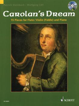 Carolan's Dream: 15 Pieces for Flute/Violin Fiddle and Piano (HL-49016985)