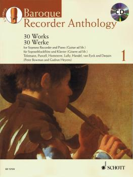 Baroque Recorder Anthology - Vol. 1: 30 Works Soprano Recorder and Pia (HL-49018003)