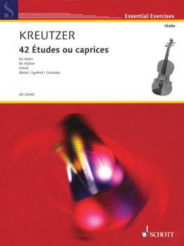 42 Études ou caprices (Violin) (HL-49018063)