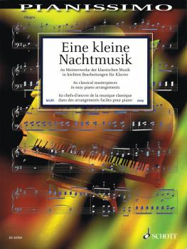 Eine kleine Nachtmusik - 60 Classical Masterpieces in Easy Piano Arran (HL-49018137)