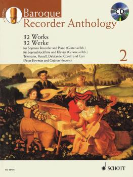 Baroque Recorder Anthology - Volume 2: Soprano Recorder and Piano Guit (HL-49018141)