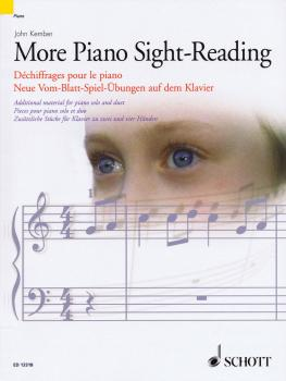 More Piano Sight-Reading: Additional Material for Piano Solo and Duet (HL-49018155)