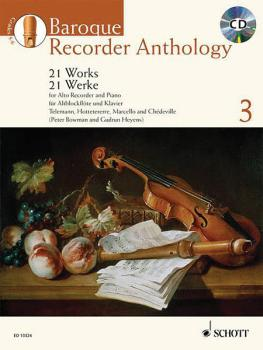 Baroque Recorder Anthology - Volume 3: 21 Works for Alto Treble Record (HL-49018399)