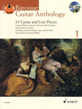 Baroque Guitar Anthology  - Volume 1: 25 Guitar and Lute Pieces With a (HL-49018421)