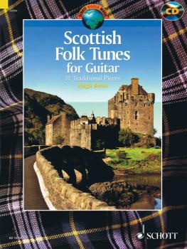 Scottish Folk Tunes for Guitar (With a CD of Performances) (HL-49018456)
