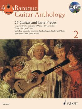 Baroque Guitar Anthology, Vol. 2: 25 Guitar and Lute Pieces With a CD  (HL-49019109)