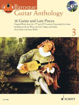 Baroque Guitar Anthology - Volume 3: 16 Guitar and Lute Pieces With a  (HL-49019407)