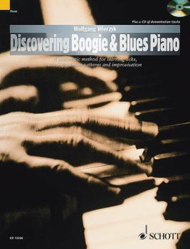 Discovering Boogie & Blues Piano (HL-49043978)