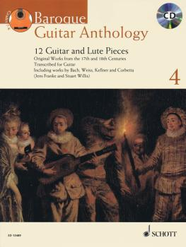 Baroque Guitar Anthology - Volume 4: 12 Guitar and Lute Pieces With a  (HL-49044578)