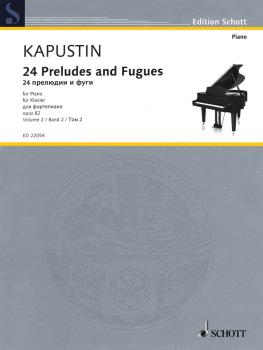 24 Preludes and Fugues Op. 82 (Volume 2, Nos. 13-24) (HL-49044634)