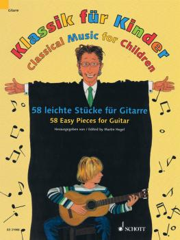 Classical Music for Children: 58 Easy Pieces for Guitar (HL-49044748)