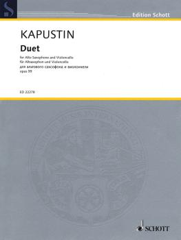 Duet, Op. 99 (for Alto Saxophone and Cello) (HL-49044827)