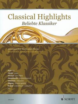 Classical Highlights (Arranged for Horn and Piano) (HL-49044877)