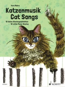 Cat Songs: 12 Little Piano Stories for Playing and Reading Aloud (HL-49045005)