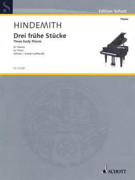 3 Early Pieces (Piano Solo) (HL-49045017)