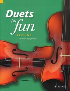 Duets for Fun: Violins: Easy Pieces to Play Together - Performance Sco (HL-49045151)