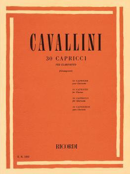 30 Capriccios (Clarinet Solo) (HL-50012320)
