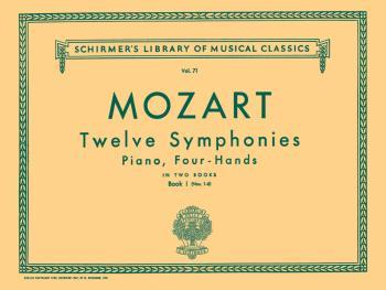 12 Symphonies - Book 1: Nos. 1-6 (Piano Duet) (HL-50252540)