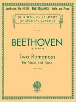 2 Romanze, Op. 40 and 50 (Violin and Piano) (HL-50253660)