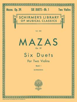 6 Duets, Op. 39 - Book 1 (Score and Parts) (HL-50254380)