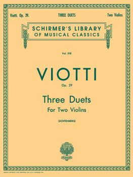 3 Duets, Op. 29 (Score and Parts) (HL-50255410)