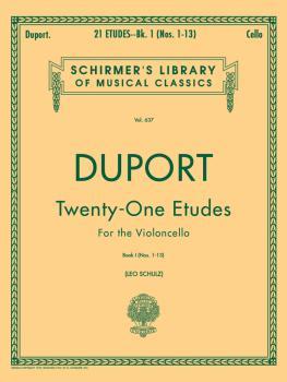 21 Etudes - Book 1 (Cello Solo) (HL-50255840)
