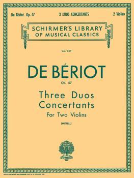 3 Duos Concertante, Op. 57 (Score and Parts) (HL-50257190)