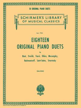 18 Original Piano Duets (Piano Duet) (HL-50261520)