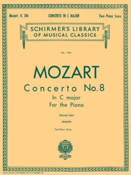 Concerto No. 8 in C, K.246: National Federation of Music Clubs 2014-20 (HL-50261770)