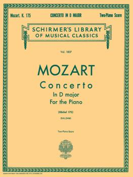 Concerto No. 5 in D, K.175: National Federation of Music Clubs 2014-20 (HL-50262160)