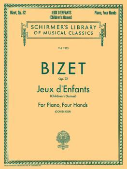 Jeux d'Enfants (Children's Games), Op. 22 (Piano Duet) (HL-50262930)