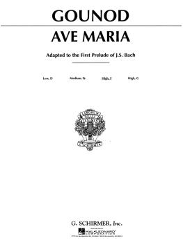 Ave Maria: Medium High Voice in F (HL-50272110)