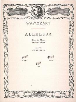 Alleluia (from Exsultate, jubilate) (High Voice in F) (HL-50277660)